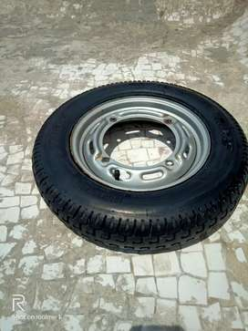 HONDA ETERNO TYRE MRF 90/100 NON USE COMPNY TIP TOP GOOD CONDITIONS
