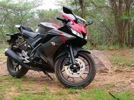 Yamaha R15 V3.0   Meerut   6000 Km