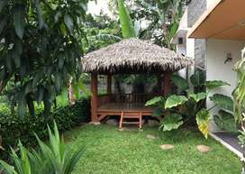 Rumah Bonus Saung Dekat Akses TOL Cijago di Puri Primacom Pondok Cabe