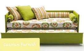 33. Good Finish New Sofa cum bed with changable coves