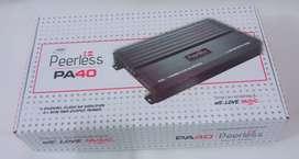 Power Peerless PA40 - 4 CH Class AB - Amplifier