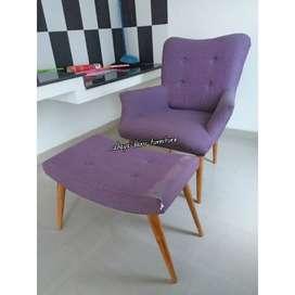 sofa kucing dan puff lengkung