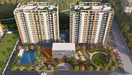 2bhk sale 34 lakh in Majestique rhthym county.