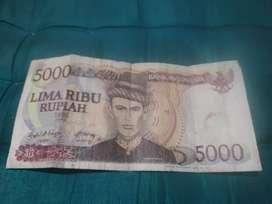 Uang lama yang jarang ada