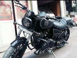 customised thunderbird lyk harley iron 883