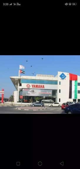 Urgent requirement in YAMAHA MOTORS