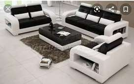 New 6 seater sofa with table