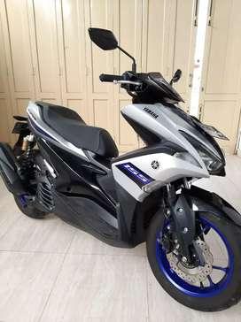 Yamaha Aerox 2018 km dikit mulus tipeR