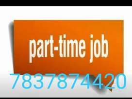 Job for 10 th and 12 th pas student  on internet