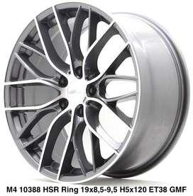 Velg berkualitas buat BMW HANOVER 10388 HSR R19X85/95 H5X120 ET38 GMF