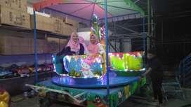 ERV 05 mainan usaha kereta komedi safari panggung kincir