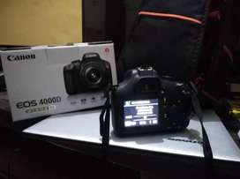 Canon DSLR 4000D With Extra Battery And Bag