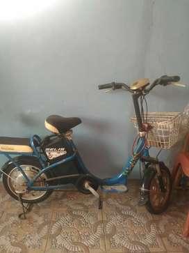 Jual sepeda selis sepeda listrik