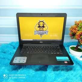 Laptop DELL VGA Radeon R7 M265 2GB - Core i3 gen 5, 4GB/500GB. Slim