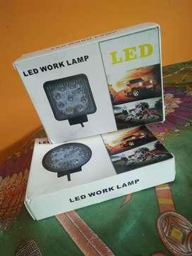 Lampu Sorot Tembak Cree 9 mata 27 watt
