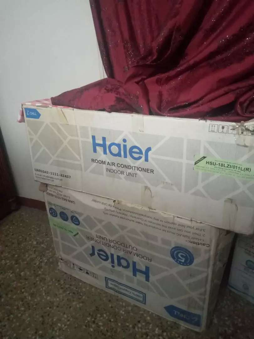 Haier A.C 1.5 ton with outer.. 0