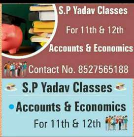Commerce CLASSES for Accountancy and Economics
