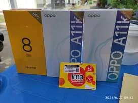 OPPO A11K RAM 2GB + ROM 32GB BNIB BARU SEGEL GARANSI RESMI