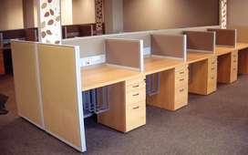 1000 SQFIT FURNISHED OFFICE IS AVAILABLE FOR RENT  IN THE 24/7  COMMER