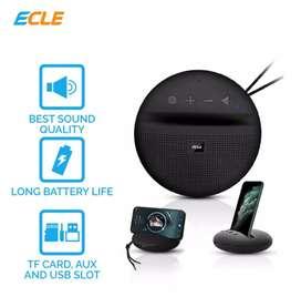 Bluetooth Speaker Magnetic Circular 1100mAh ECLE BSE-1602
