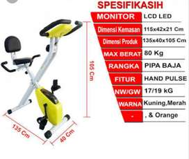 Sepeda Fitness X bike TL 920 promoooX BIKE TL 920 harga promo  Desain