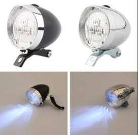 Lampu LED Gaya Retro/Klasik/Kuno Untuk Lampu Depan Sepeda
