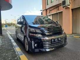 Toyota Vellfire ZG CBU Upgrade GS Sport 2014 Istimewa