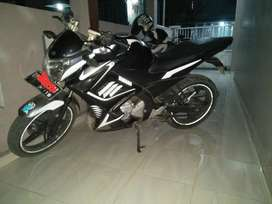 Vixion 2013 warna hitam
