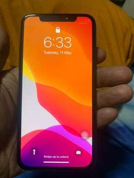 iphone x 64gb brand new condition poora saf aa ek dum