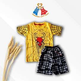baju set anak import