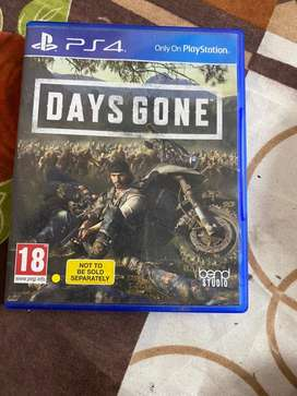Ps 4 game .days gone
