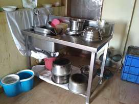 Heavy Duty SS commercial kitchen equipments