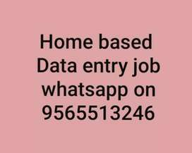 are you searching genuine data entry work available,