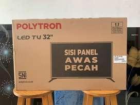 LED TV POLYTRON 32 inh Garansi 5 tahun