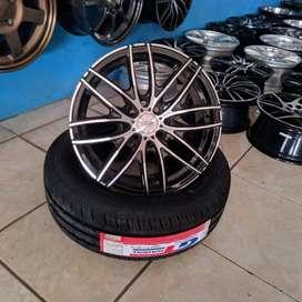 paket oz racing 15x7 100 114.3 +40 untuk mobil BRIO XENIA avanza
