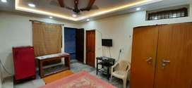 Single room attach bathroom full furnished house ground floor
