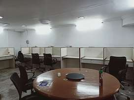 Fully Furnished 850 sqft commercial office space rent in Vazhuthacaud