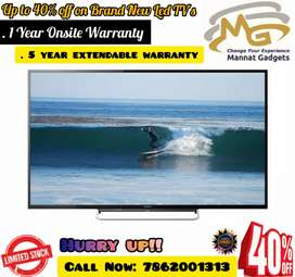 40 inch Smart LED TV // Spl. bumper offer on site