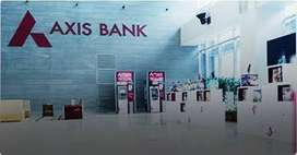 Requirement for AXIS BANK male and female candidate...e