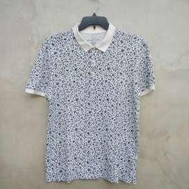 01 Kaos Polo Shirt HnM/H&M/HM Second Original 101%