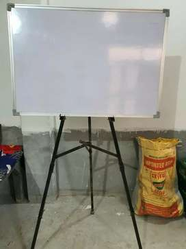 White board and iron stand