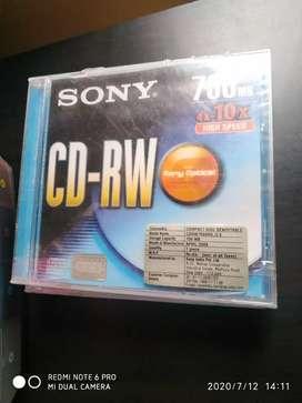 CD RW SONY 700 MB