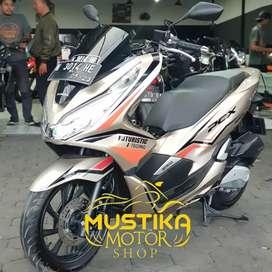 Honda PCX 2018 Km8000 Plat N Asli-Mulus Murah Berkelas Mustika Saiful