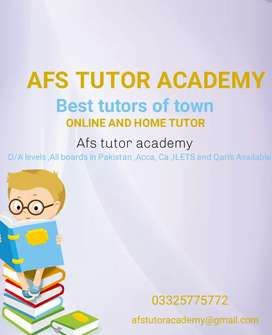 Home Tutor required for class 9 math and 1st year chemistry