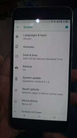 Nexus 6P pta approved only mobile with charger