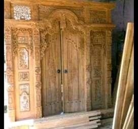 cuci gudang pintu gebyok gapuro jendela rumah masjid musholla tessa