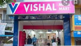 Urgent hiring for shopping mall in back office