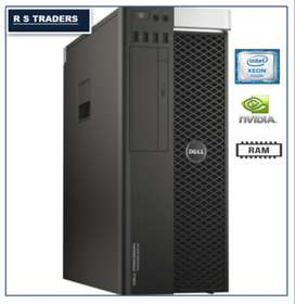 Used Workstations DELL T5810 | k2000-2GB Graphic / 8GB DDR4 RAM |