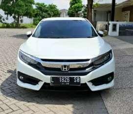 Honda Civic  Turbo ES Prestige Matic 2018 Putih Km 25.000