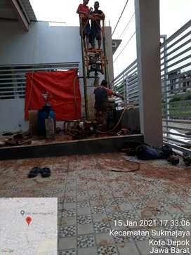 Service pompa air dan pengeboran sumur